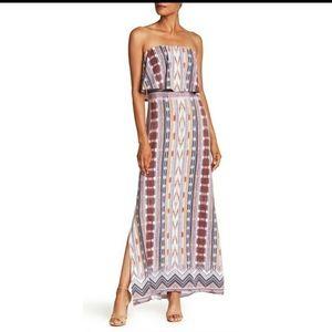 NWOT Tart strapless maxi dress L